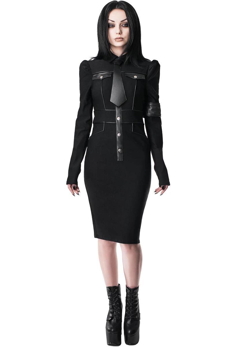 šaty dámske KILLSTAR - Army Of Darkness - BLACK - KSRA001707