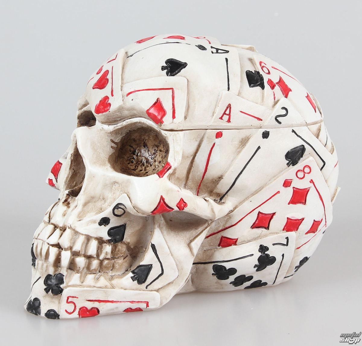 krabička (dekorácia) Dead Mans Hand - NEM5184