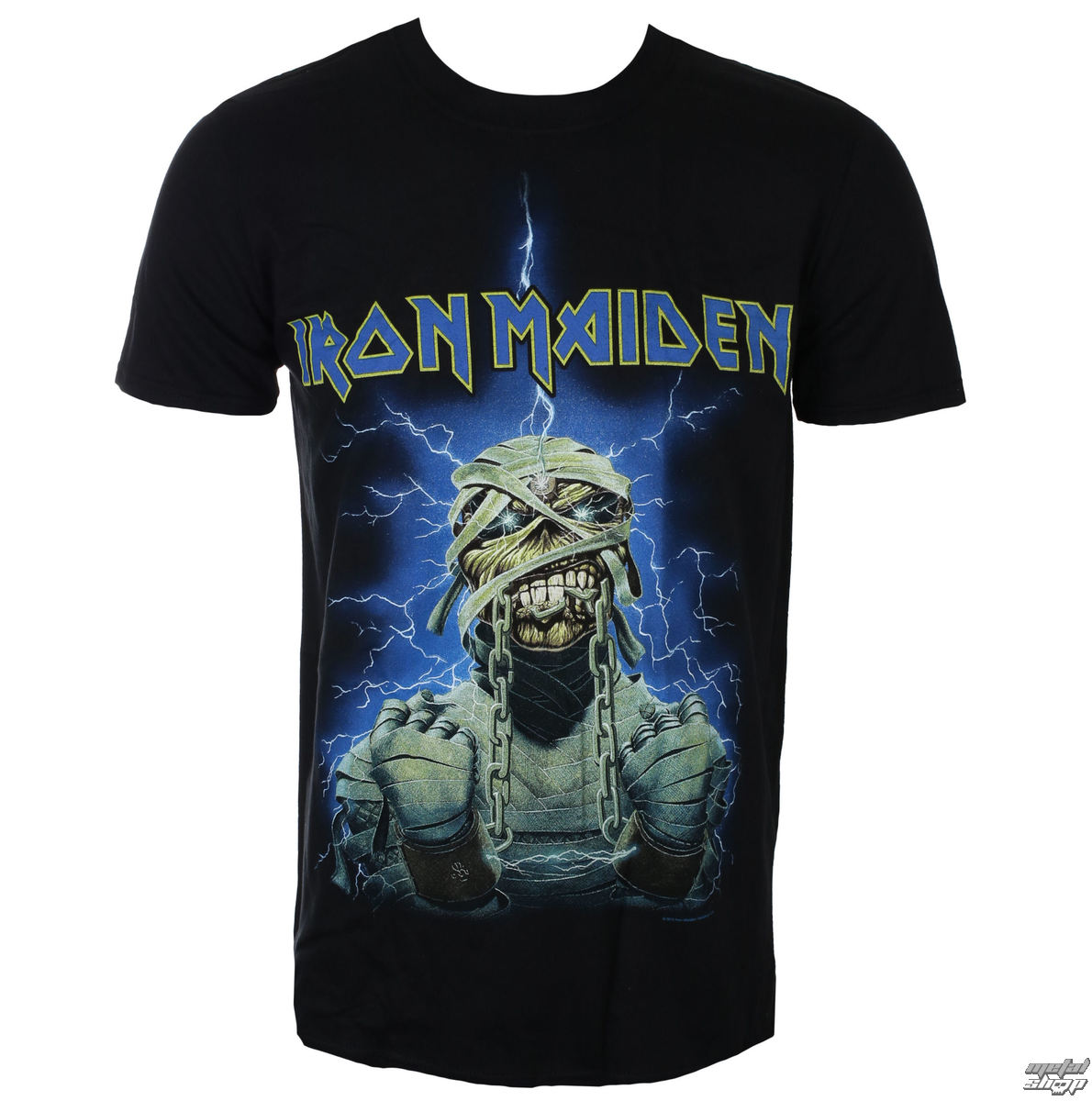 tričko pánske Iron Maiden - Powerslave Mummy - ROCK OFF - IMTEE30MB