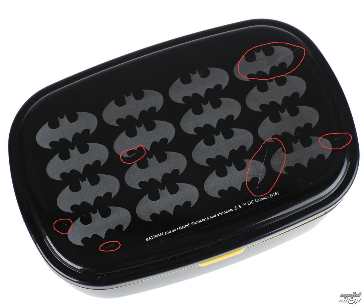 jedálenská set Batman - Logo - POŠKODENÝ - BEA022