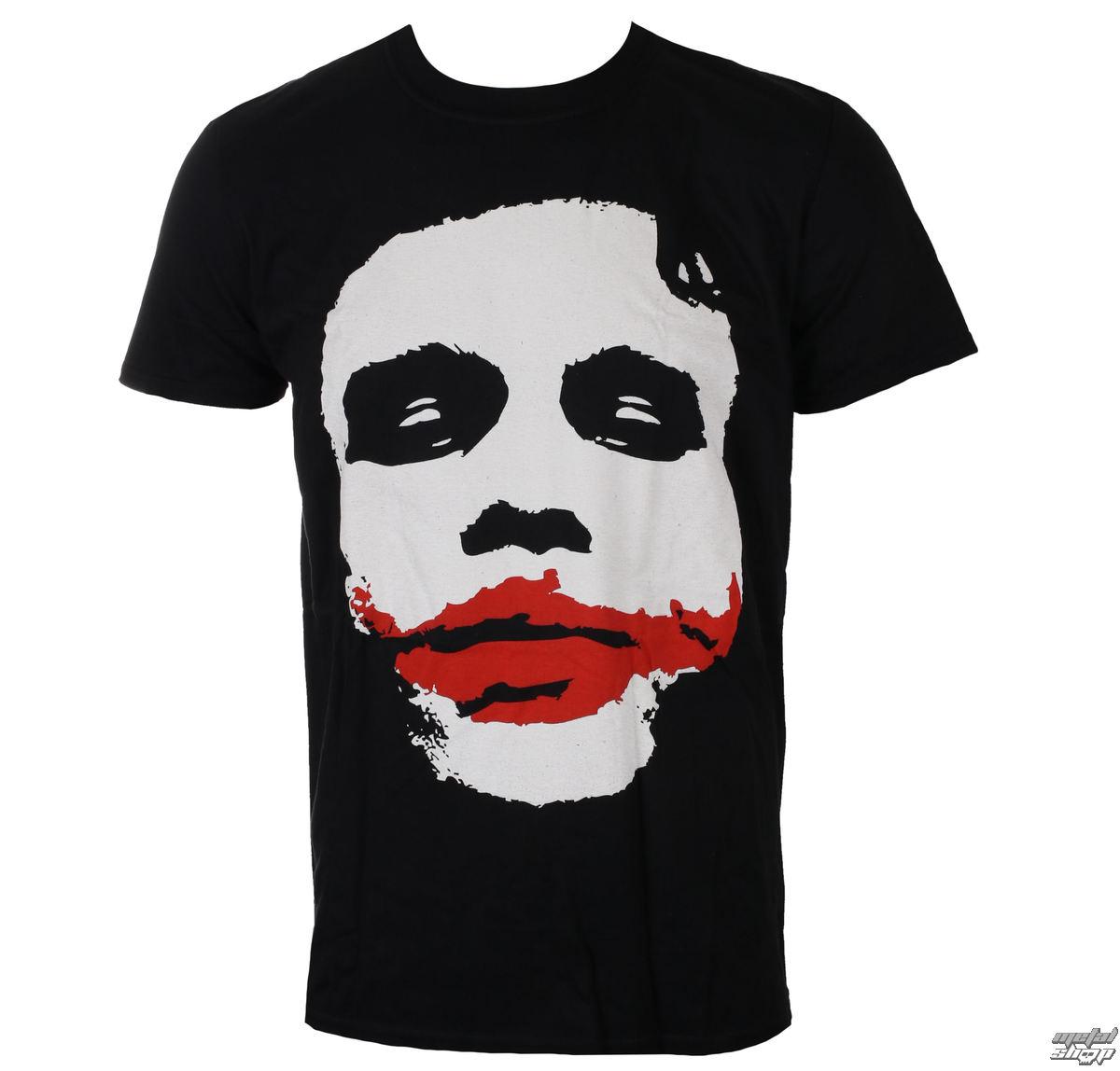 tričko pánske BATMAN - THE DARK KNIGHT - JOKER - BLACK - LIVE NATION - PE12814TSBP