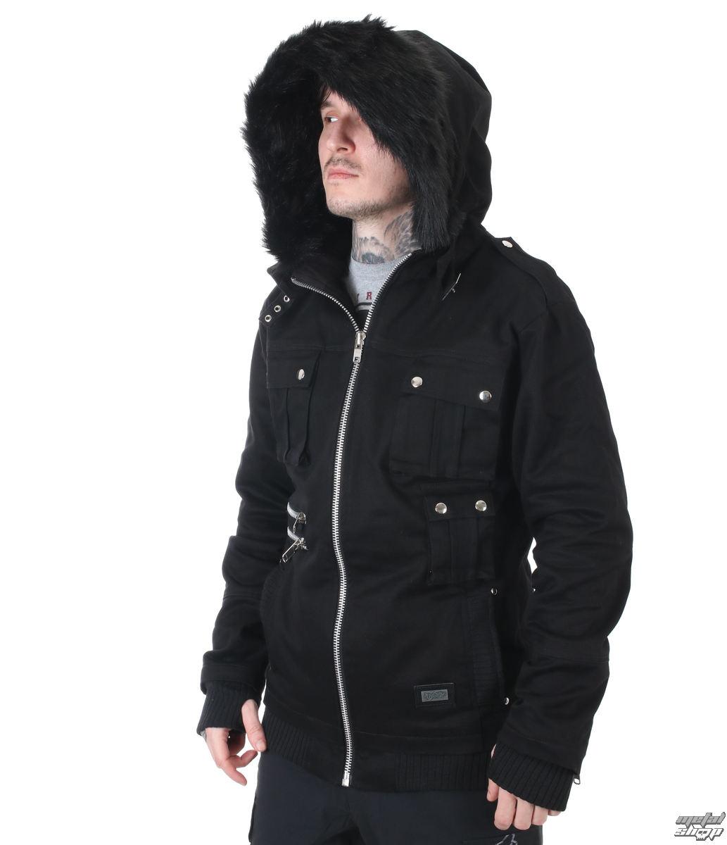 bunda pánska zimný VIXXSIN - MADDOX - BLACK - POI475