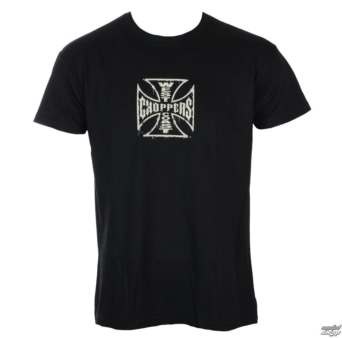 tričko pánske West Coast Choppers - CHOPPER DOG - Black - WCCTS132672ZW