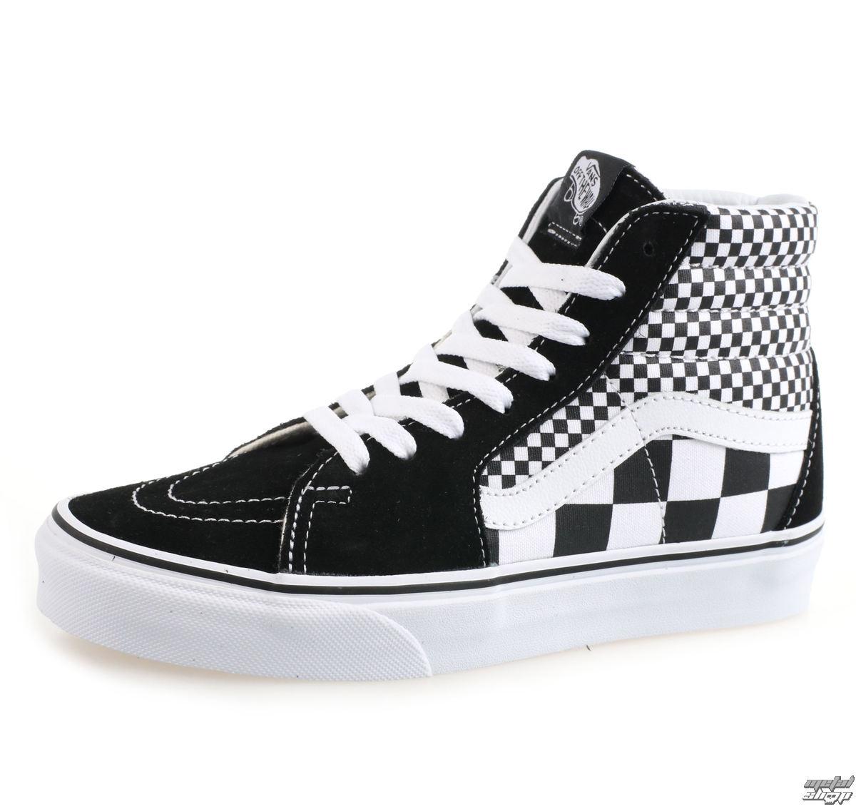 topánky VANS - UA SK8-HI (MIX CHECKER) - VA38GEQ9B