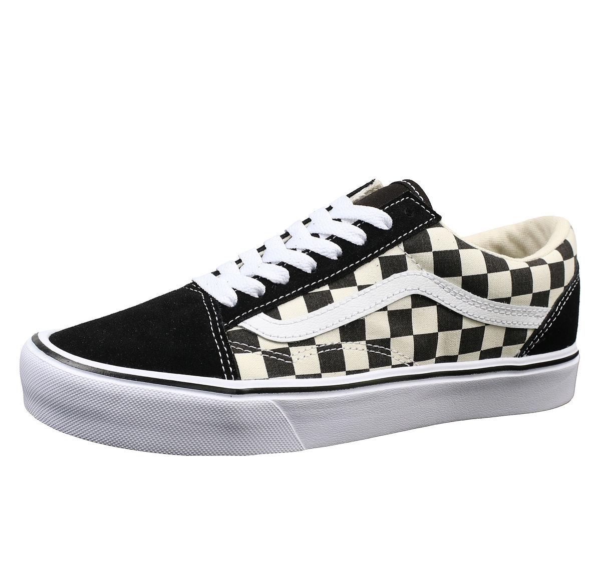 topánky VANS - UA OLD Skool LITE (Checkerboard) - Black  White ... 2b4eefdaf22