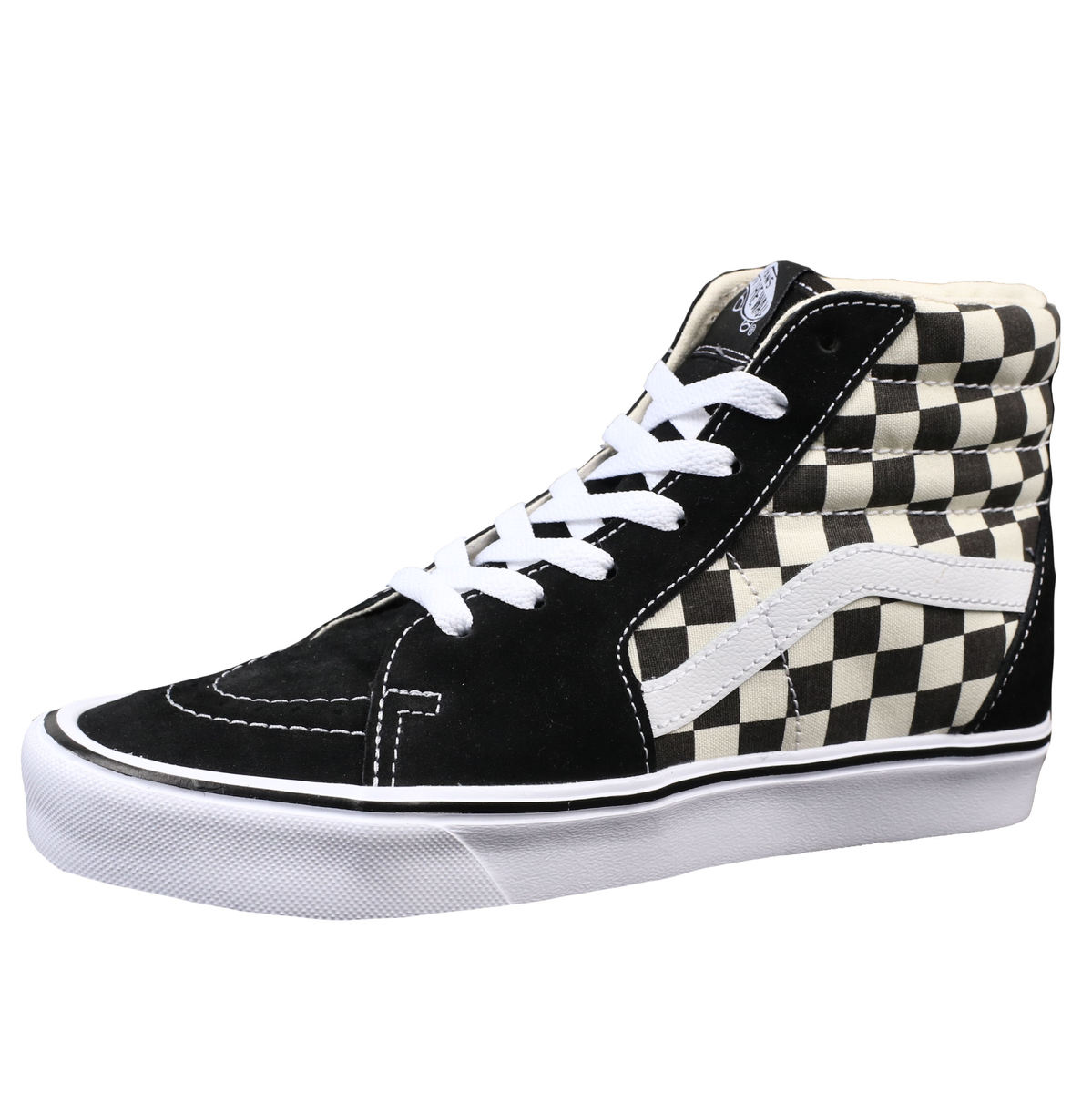 topánky VANS - UA SK8-HI LITE (Checkerboard) - Black/White - VA2Z5Y5GX