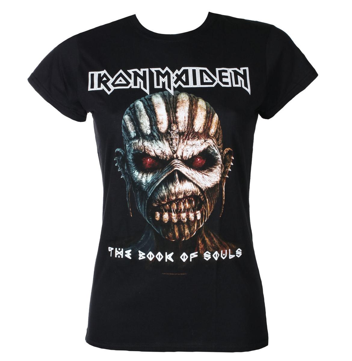 tričko dámske Iron Maiden - Book Of Souls - Blk - ROCK OFF - IMTEE44LB