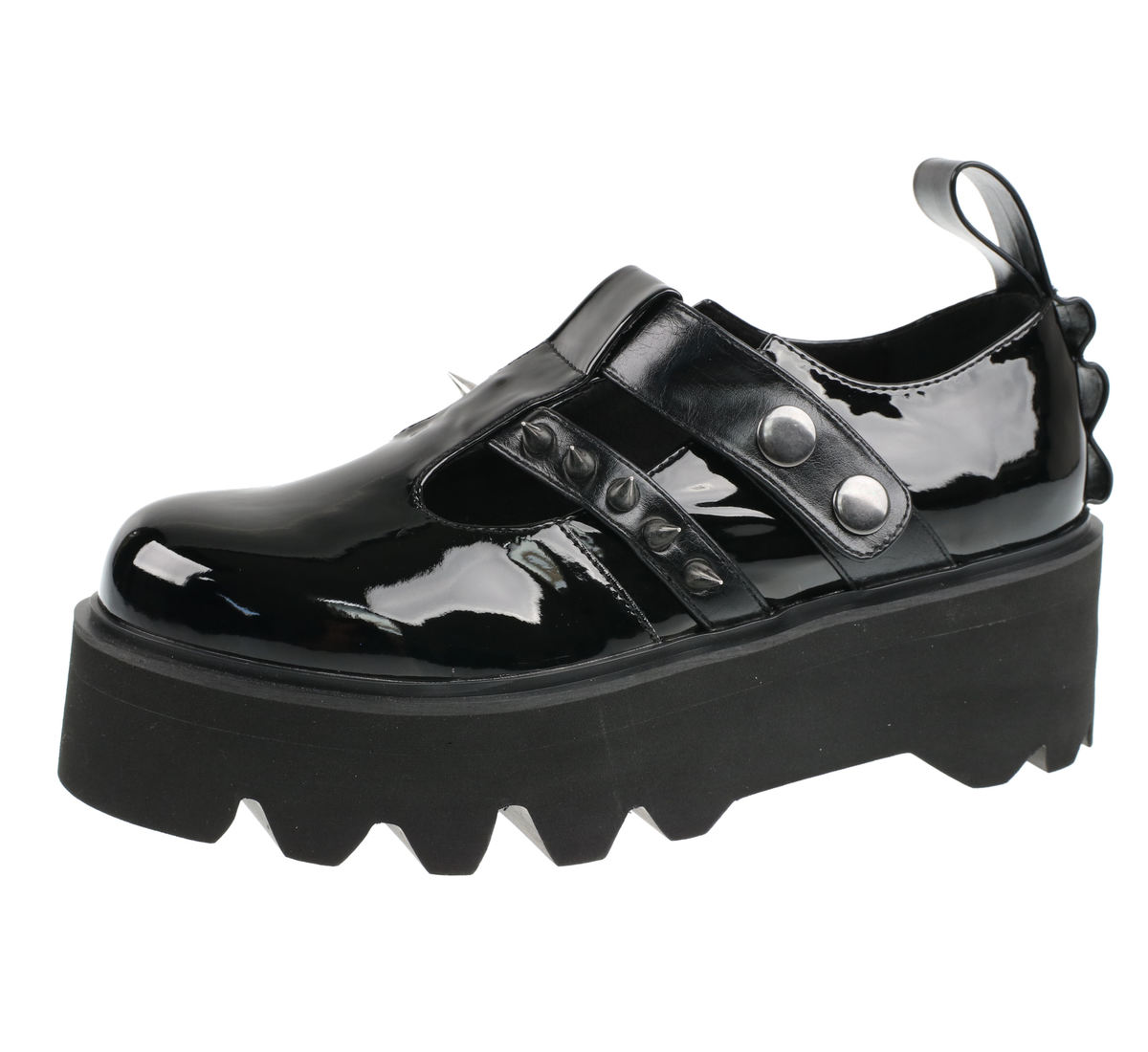 4e445c3e2cc67 topánky s klinom dámske - Violet - DISTURBIA - SS1884