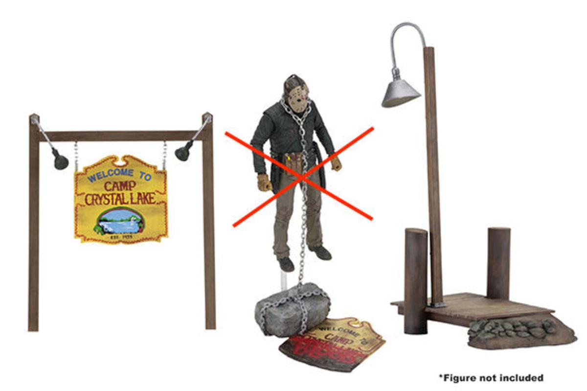 set s príslušenstvom Friday the 13th - Camp Crystal Lake - NECA39717