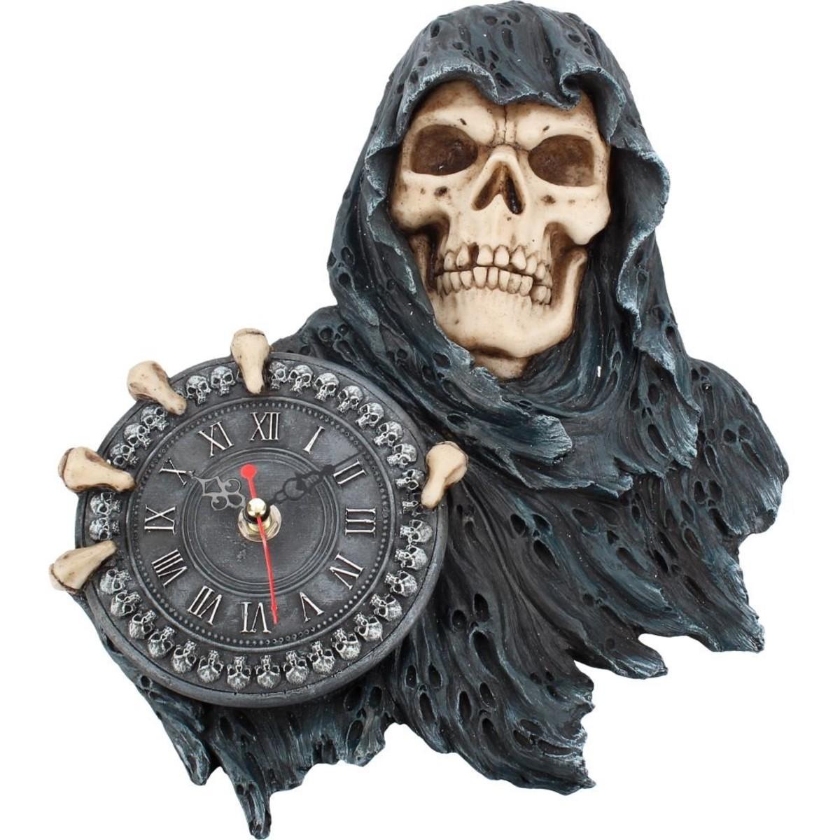 dekorácia (hodiny) Face of Time - D3600J7