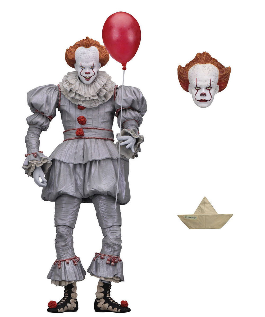figúrka TO - Stephen King - 2017 Pennywise - NECA45461