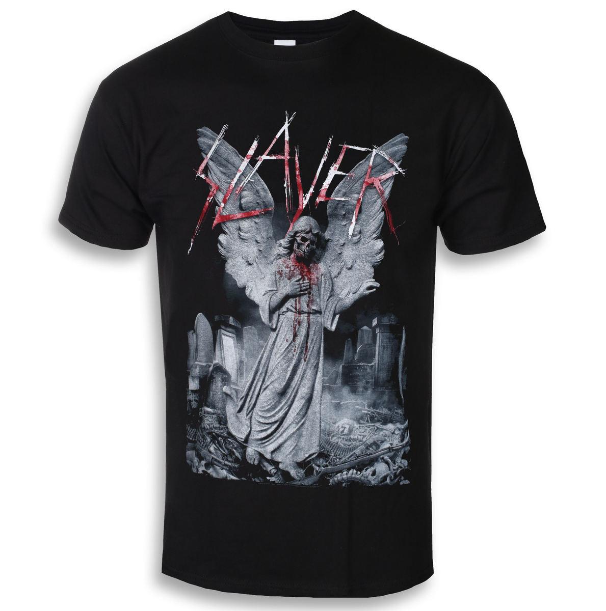 d168a375a5ba tričko pánske Slayer - Gravestone Walks - ROCK OFF - SLAYTEE52MB ...