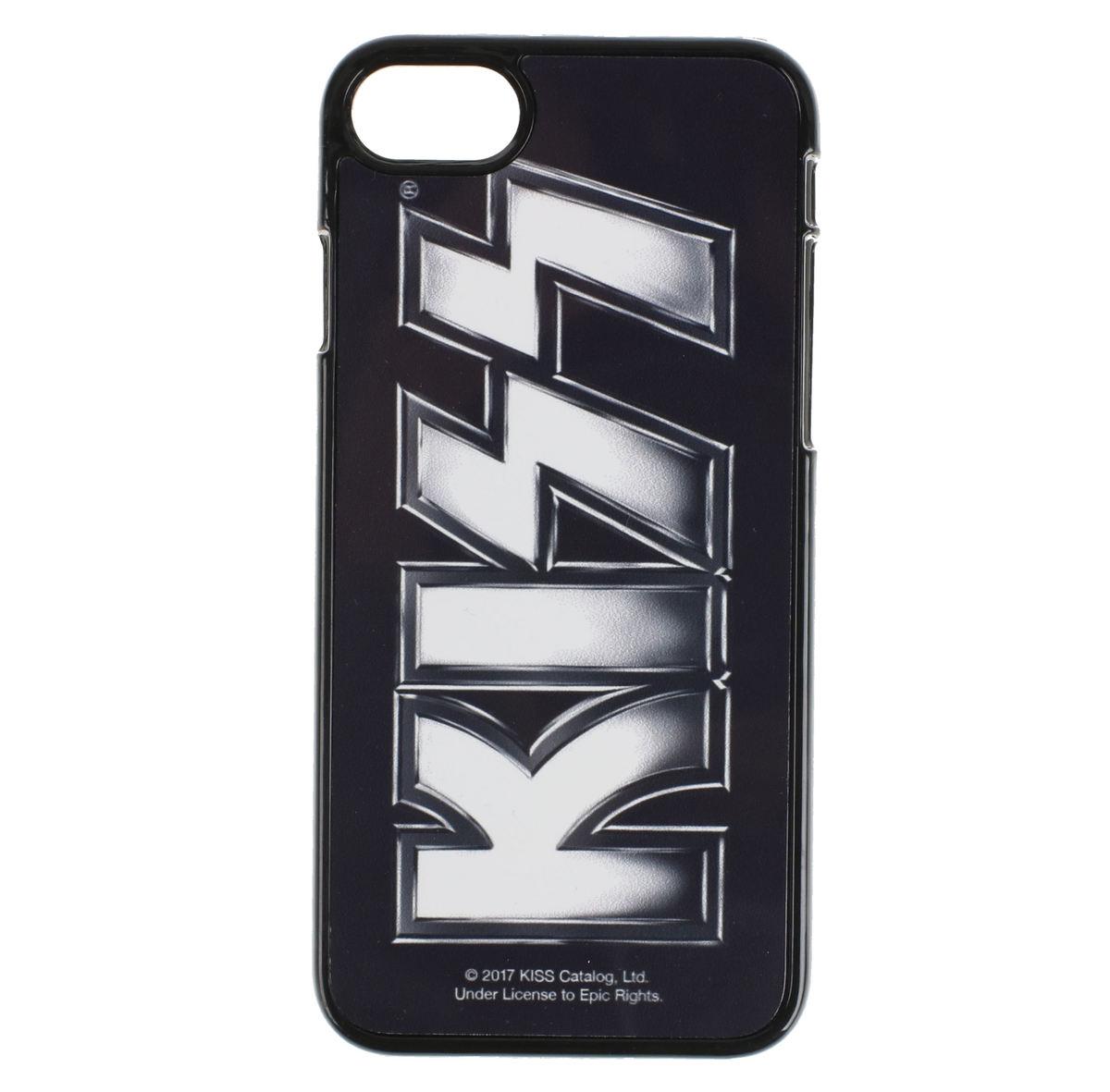 kryt na mobil (Iphone 7) Kiss - Logo - HYBRIS - ER-80-KISS8002-SUB-IP7