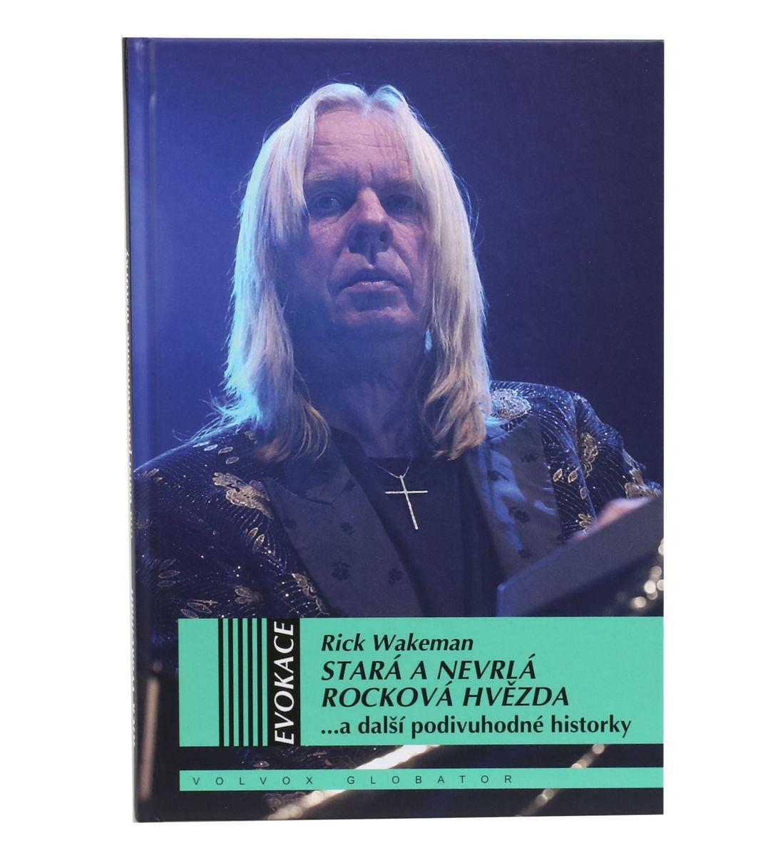 kniha Stará a nevrlá rocková hviezda - Wakeman Rick - KOS012