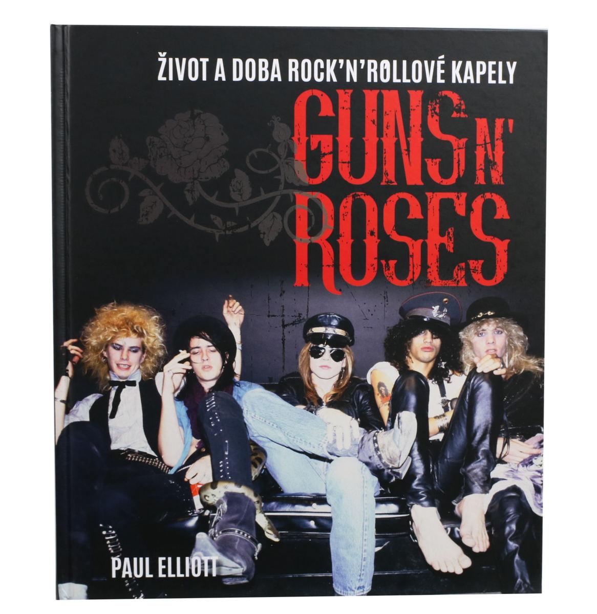 kniha Guns N' Roses - Elliott Paul - 0340073
