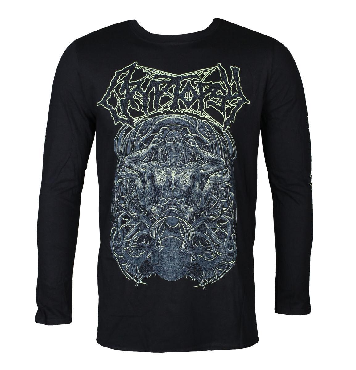 tričko pánske s dlhým rukávom CRYPTOPSY - MORTICOLE - PLASTIC HEAD - PH11367LS