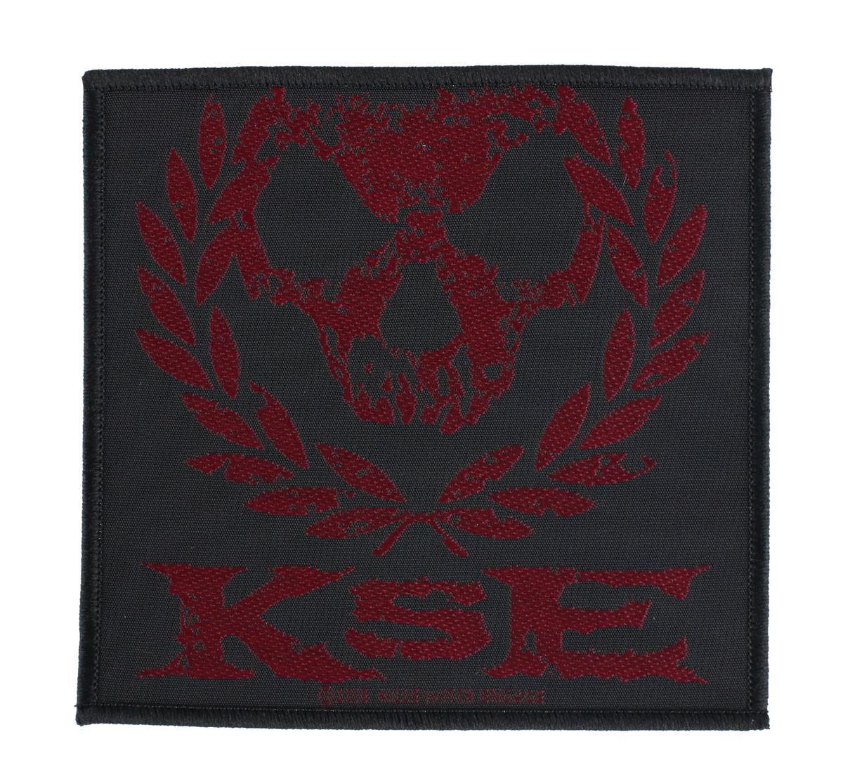 nášivka Killswitch Engage - Skull Wreath - RAZAMATAZ - SPR3025