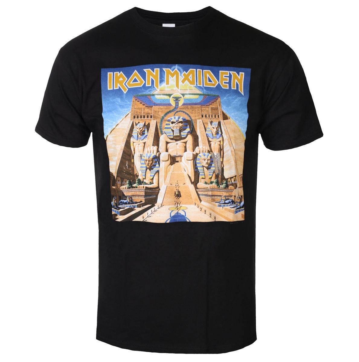 tričko pánske Iron Maiden - Powerslave - ROCK OFF - IMTEE84MB