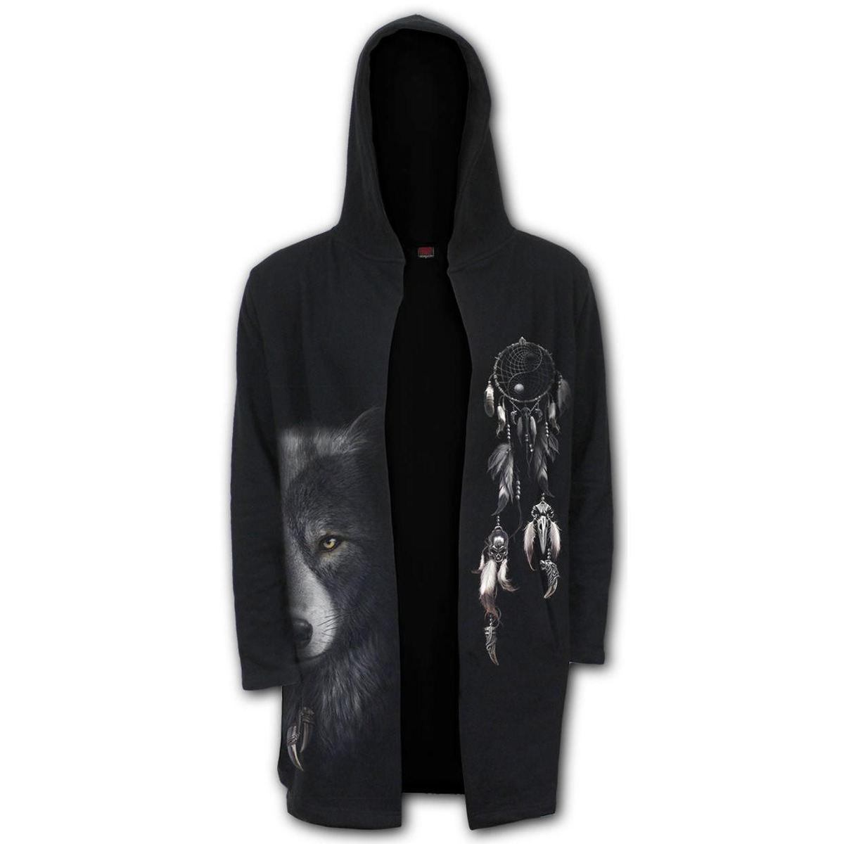 mikina pánska (cardigan) SPIRAL - WOLF CHI - Occult - T118M478