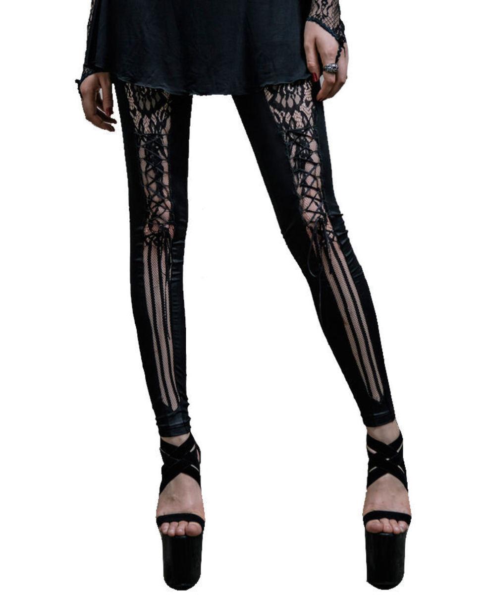 nohavice dámske (legíny) DEVIL FASHION - PT005