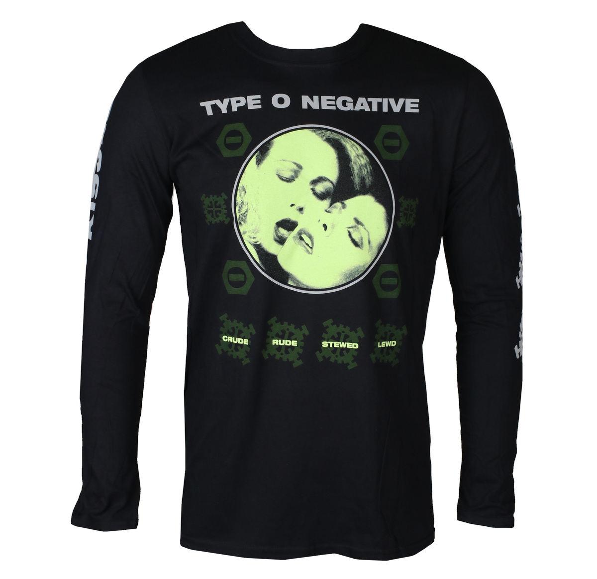tričko pánske s dlhým rukávom TYPE O NEGATIVE - CRUDE GEARS - PLASTIC HEAD - PH11698LS