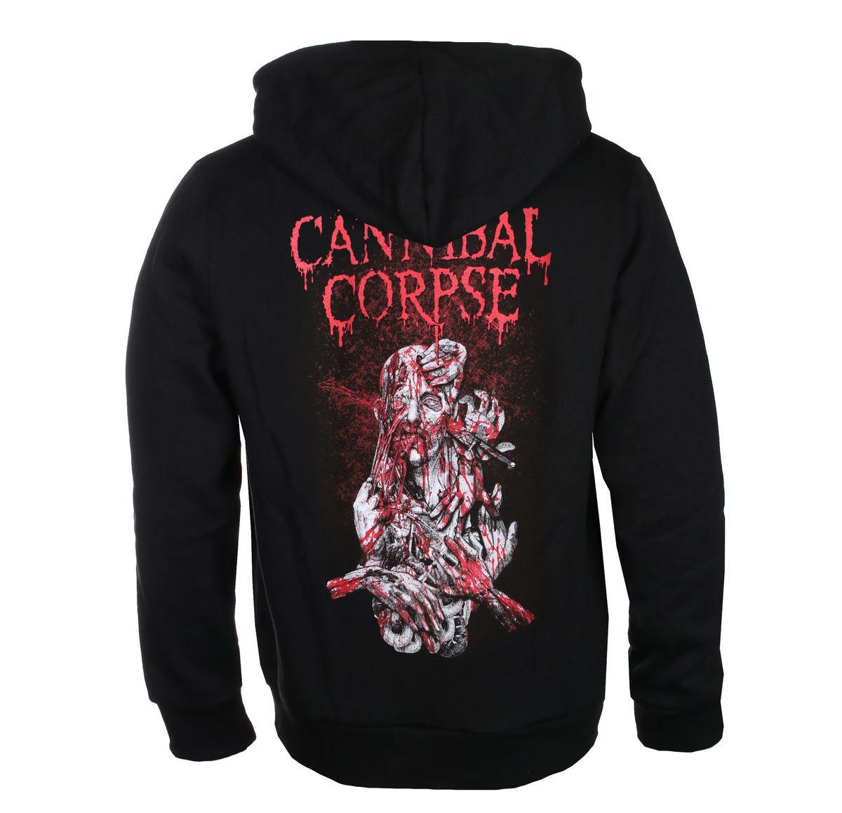 mikina s kapucňou PLASTIC HEAD Cannibal Corpse STABHEAD 1 Čierna XL