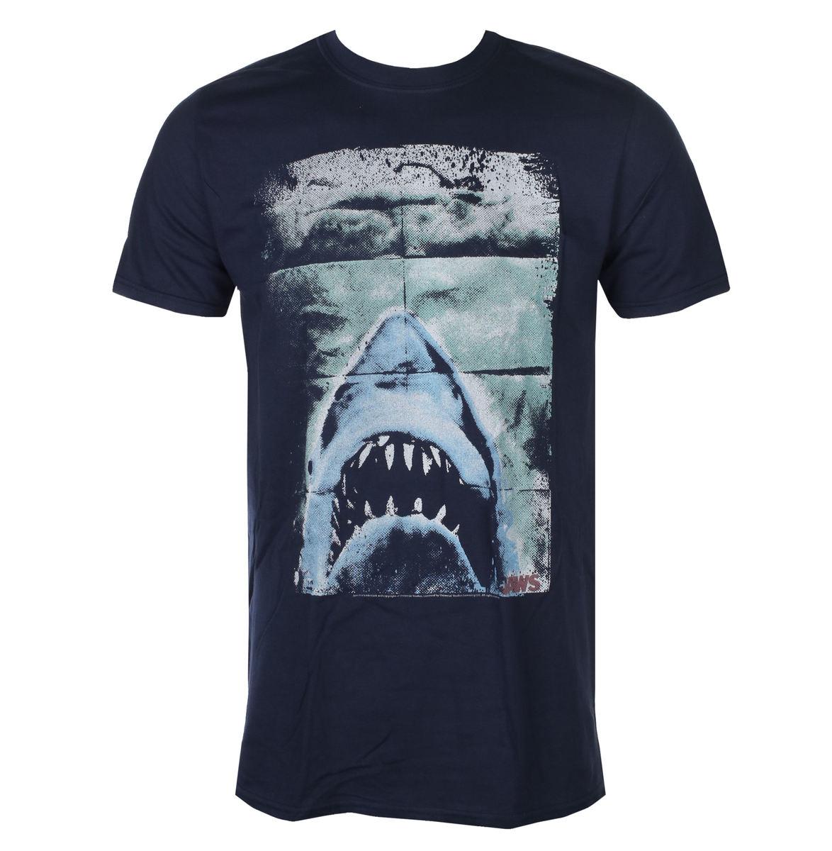 tričko pánske Jaws - Folded Poster - JAW5376