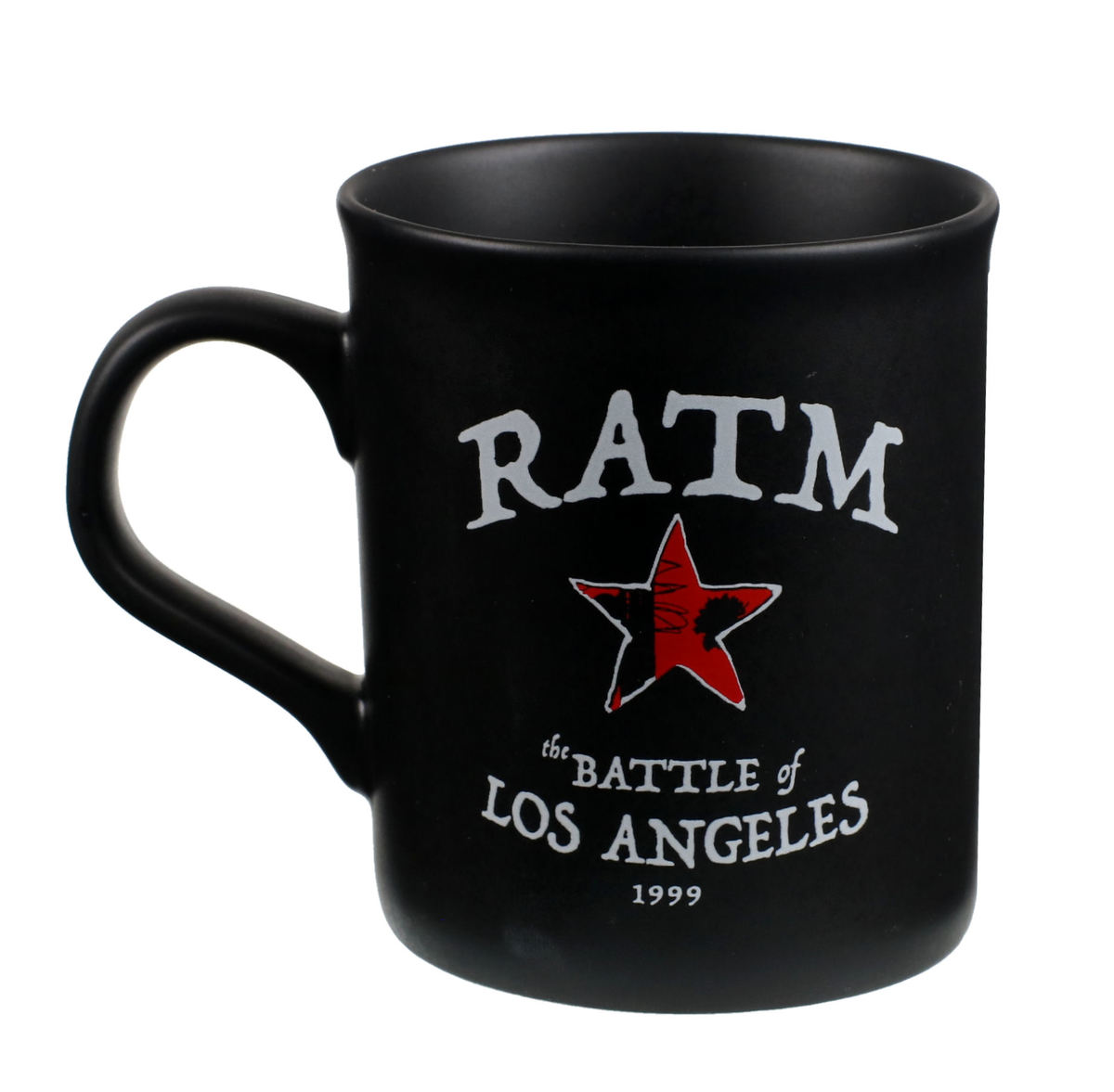 hrnček Rage Against the Machine - Battle Star - Black - RTRAMMUBSTA