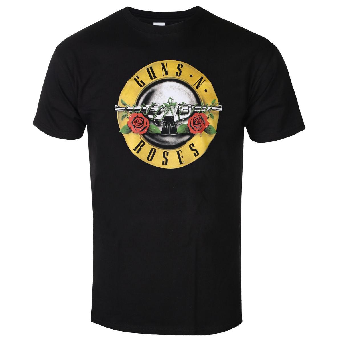 tričko pánske Guns N' Roses - Classic Logo - ROCK OFF - GNRTSP04MB