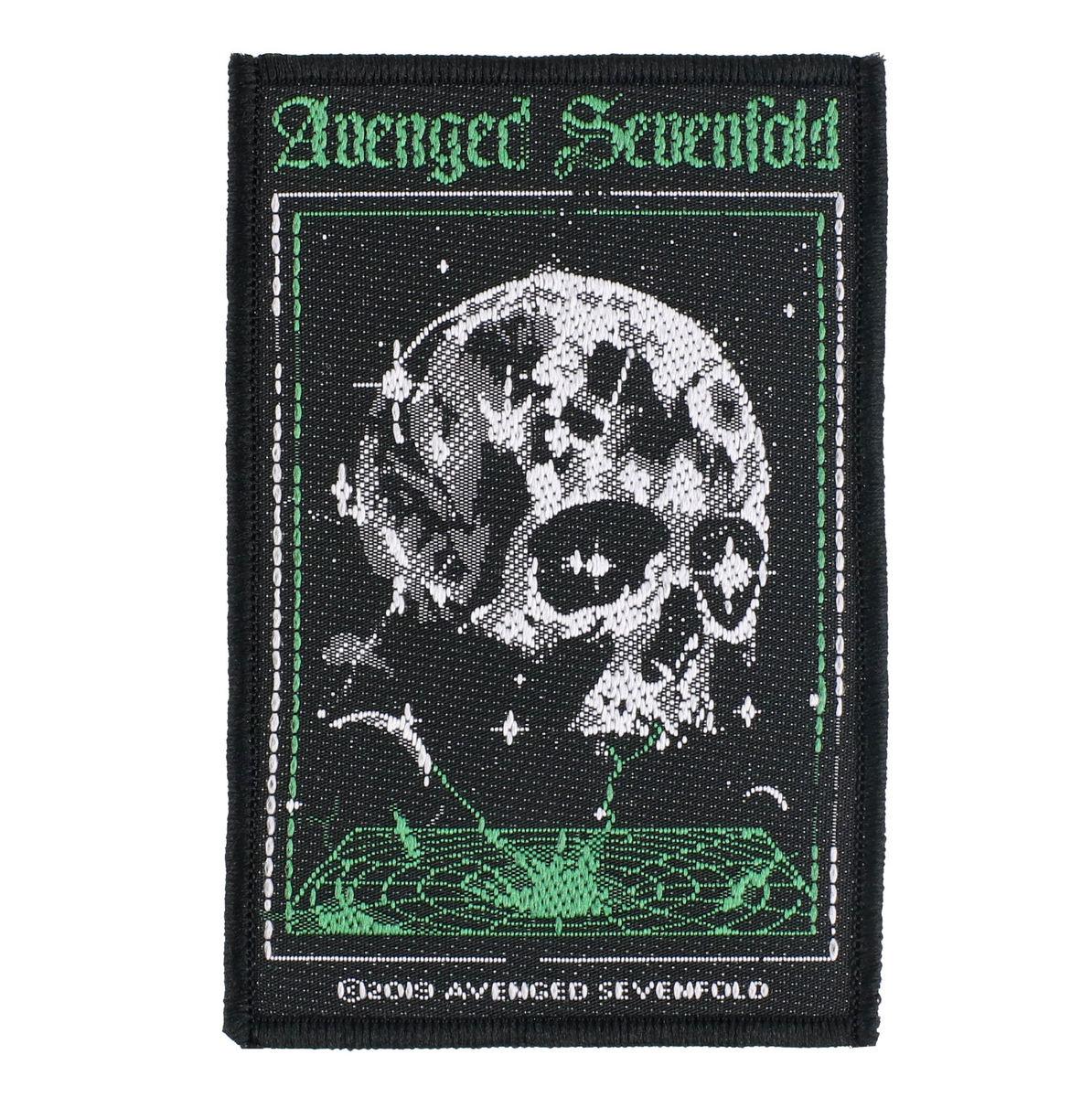 nášivka Avenged Sevenfold - Vortex Skull - RAZAMATAZ - SP3076