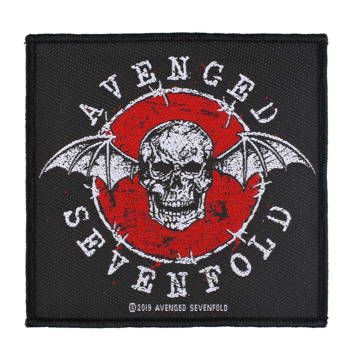 nášivka Avenged Sevenfold - Distressed Skull - RAZAMATAZ - SP3075