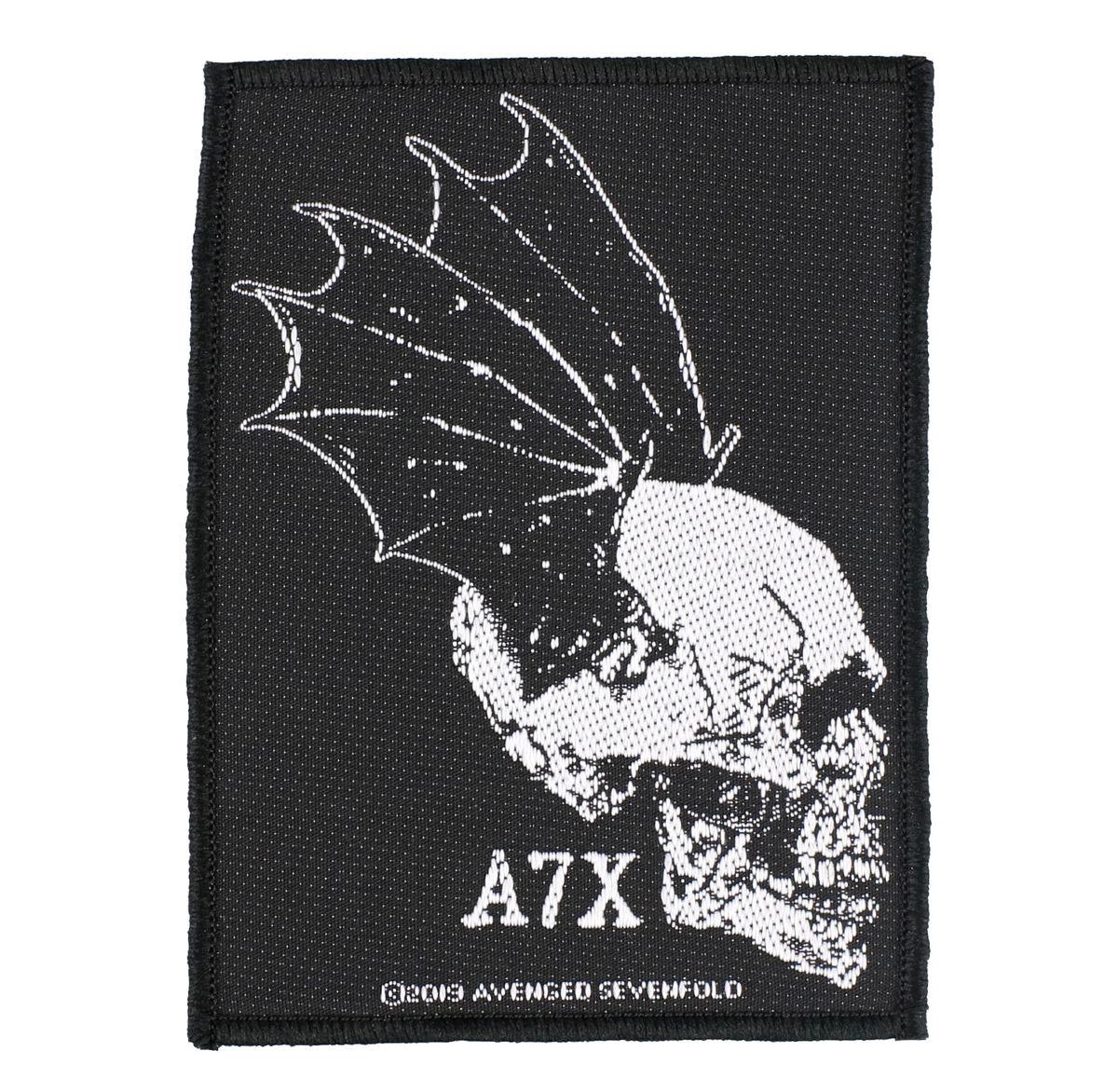 nášivka Avenged Sevenfold - Skull Profile - RAZAMATAZ - SP3074