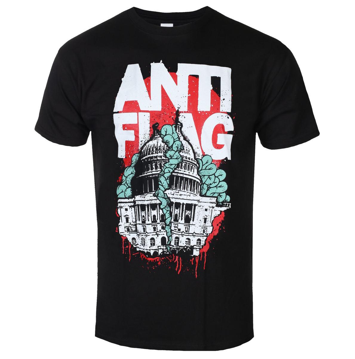 tričko pánske Anti Flag - Washington DC Black - Black - KINGS ROAD - 20121946
