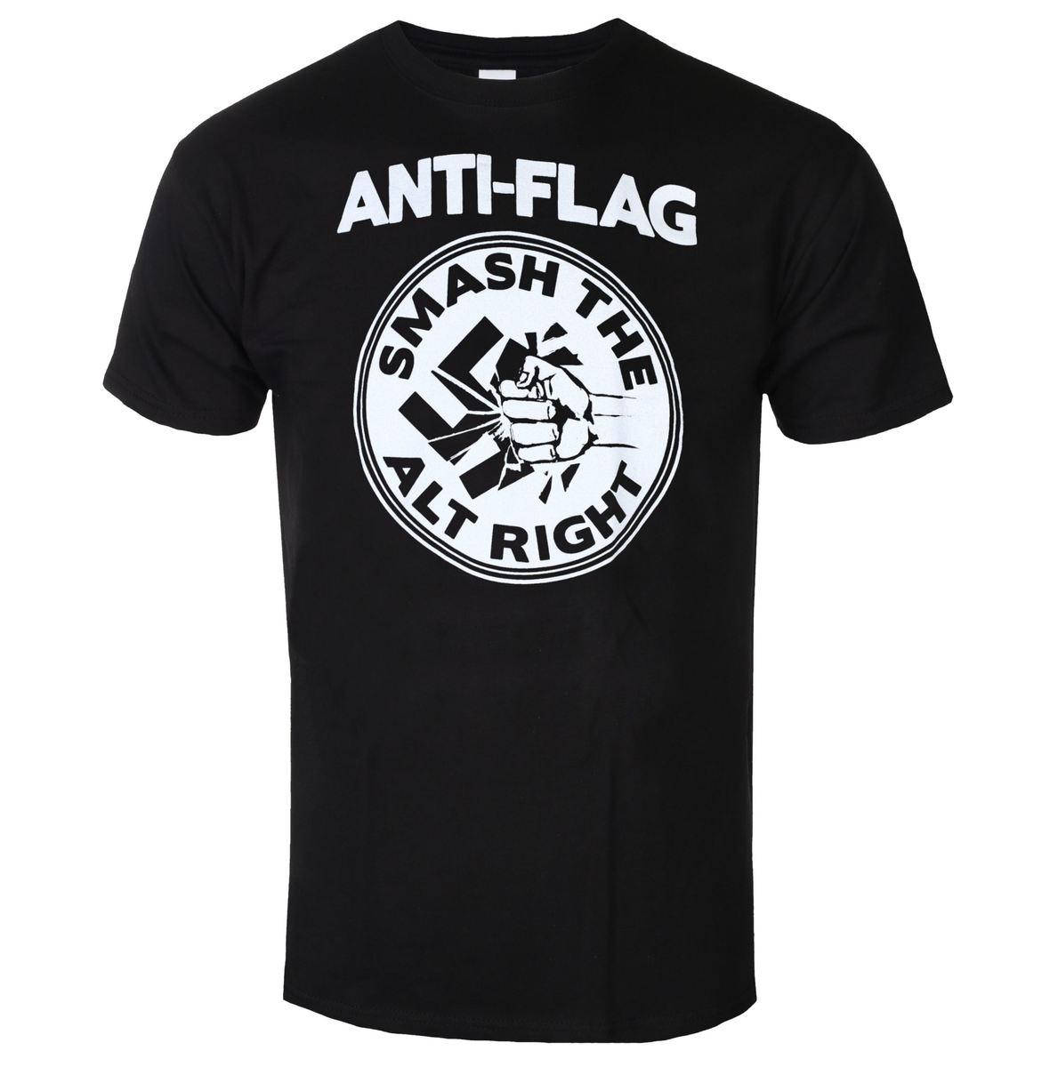tričko pánske Anti Flag - Smash The Alt Right - Black - KINGS ROAD - 20110450