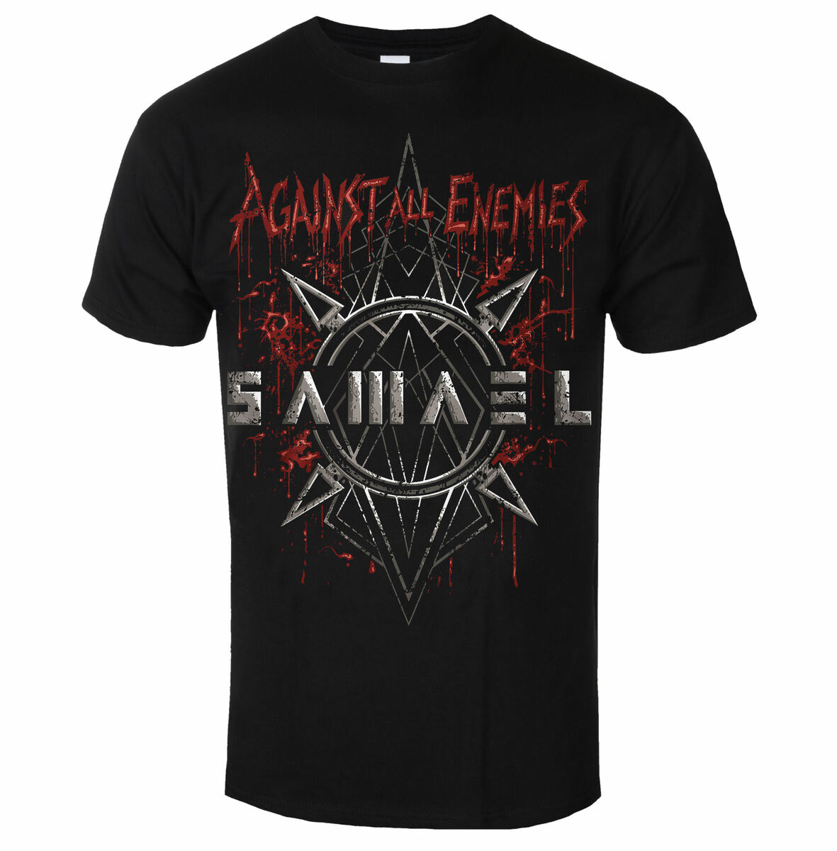 Tričko metal ART WORX Samael Against All Enemies Čierna M