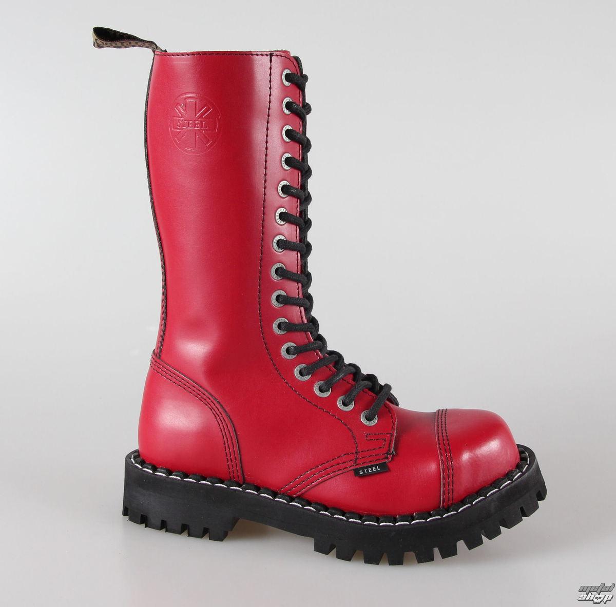 topánky STEEL - 10 dierkové čierne ( 105 106 Black) 10tich-dierkové ... 9cff6322fc