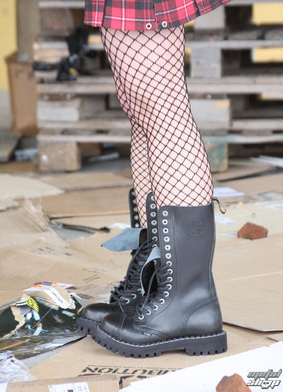 topánky STEEL - 10 dierkové čierne ( 105 106 Black) 10tich-dierkové ... 41a4820763a