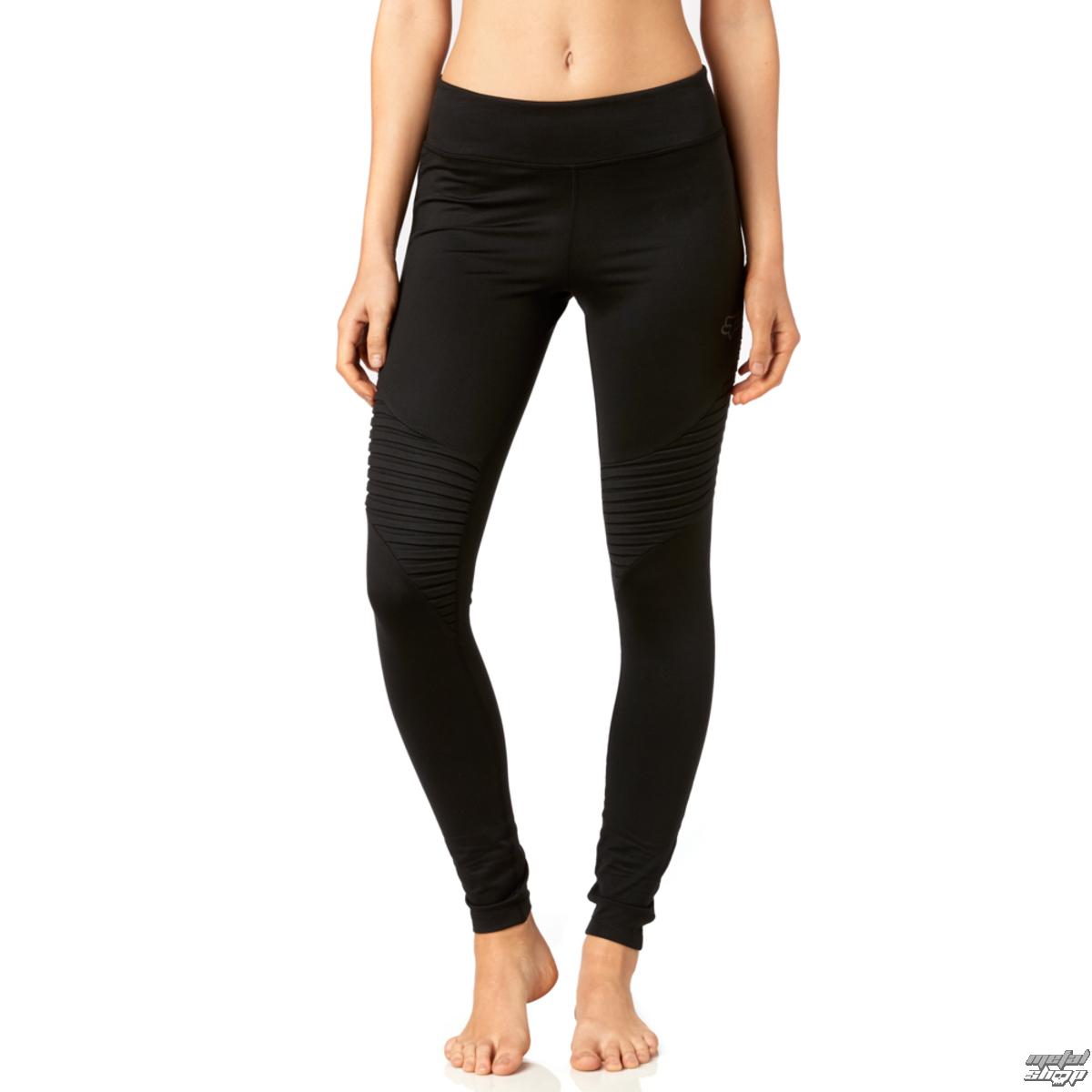 nohavice dámske (legíny) FOX - Moto - Black - 20251-001
