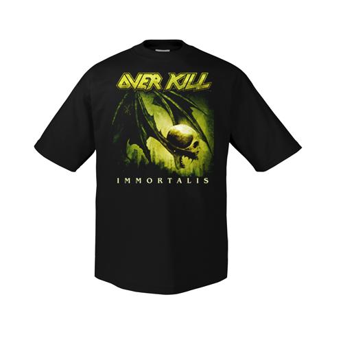 "tričko pánske Overkill - ""Immortalis Cover 1"" - 185700 - ART-WORX"