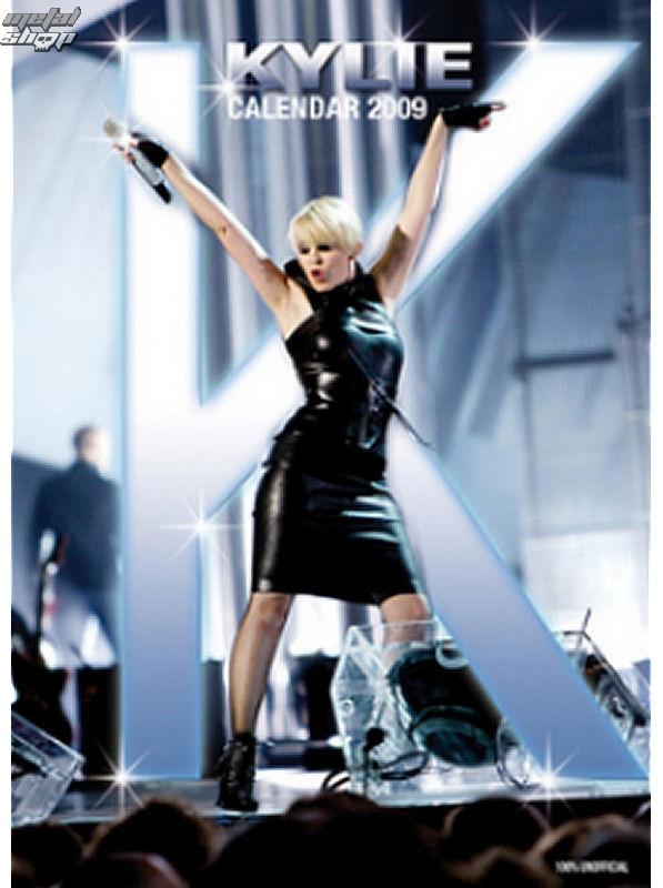 kalendár na rok 2009 - Kylie 1