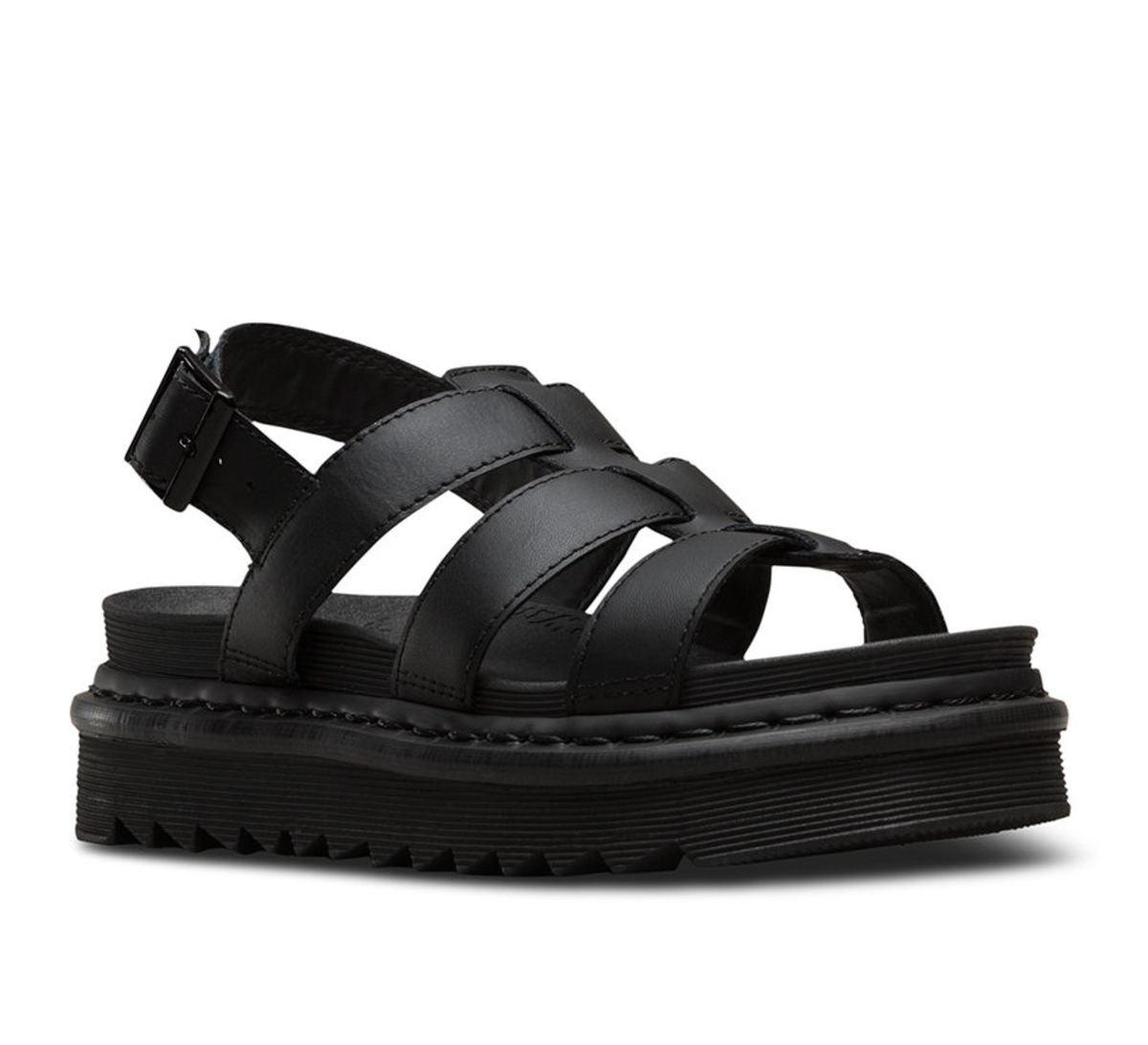 sandále dámske DR.MARTENS - YELENA BLACK - DM23800001