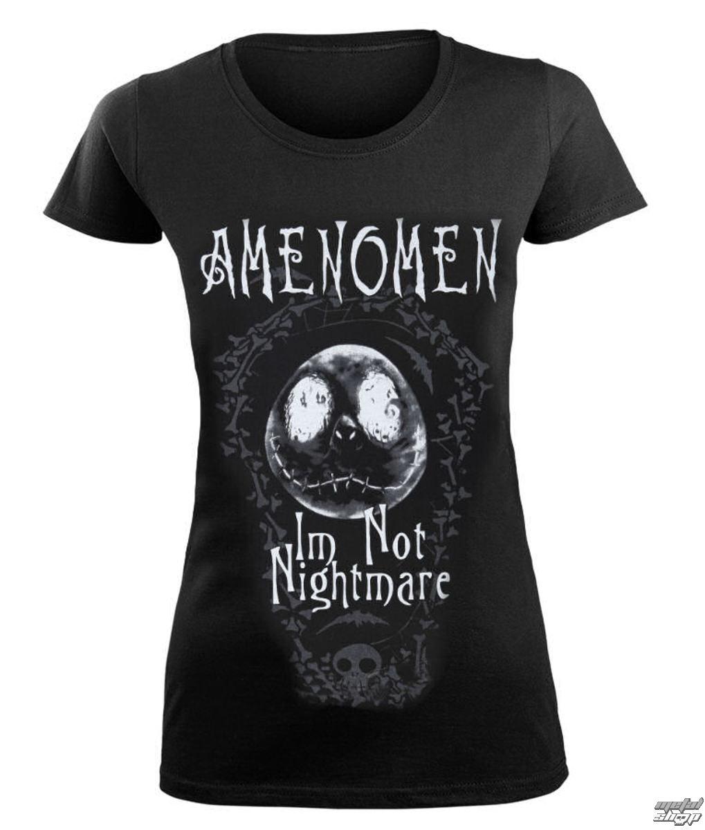 tričko dámske AMENOMEN - I'M NOT NIGHTMARE - OMEN073DA
