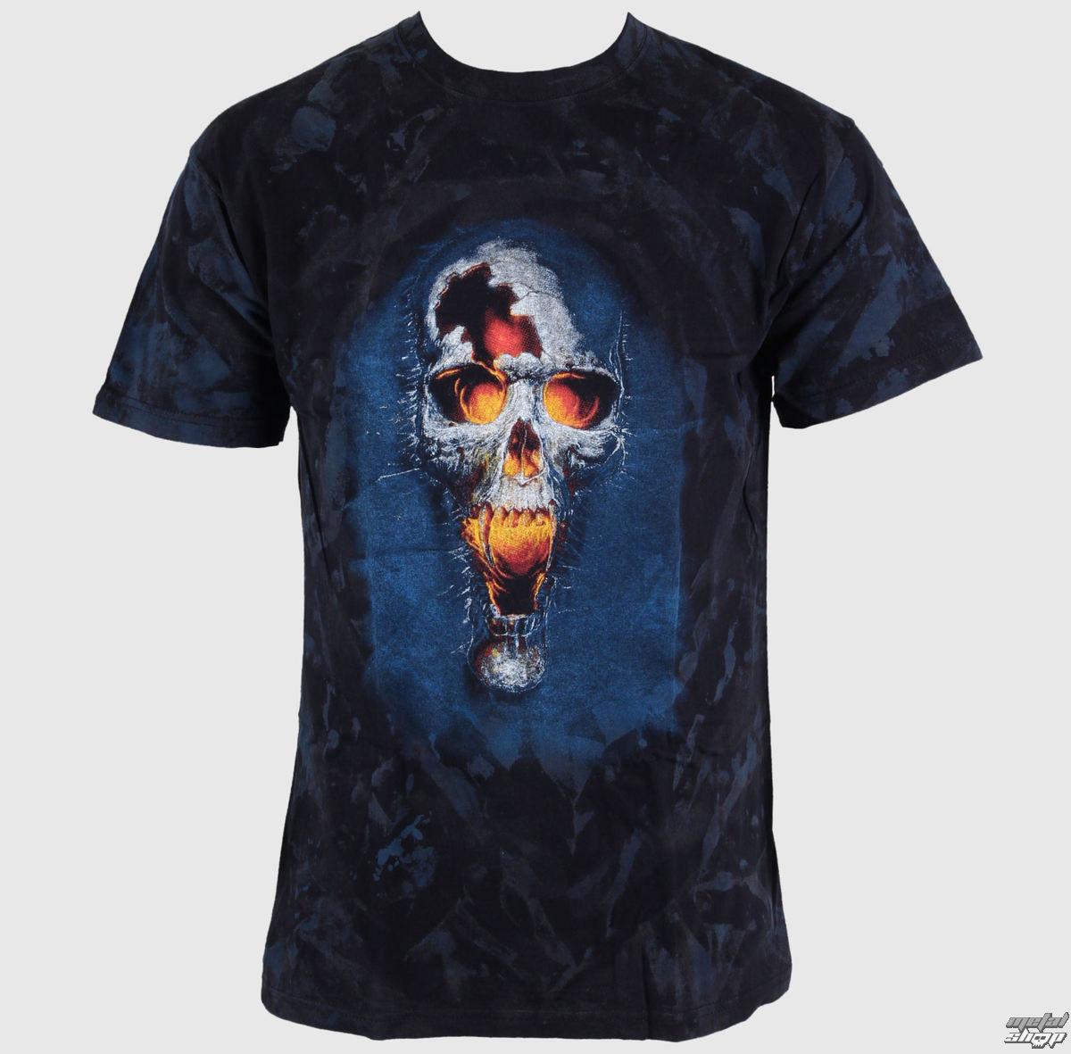 tričko BATIKOVANÉ Lebka 15 - FTL