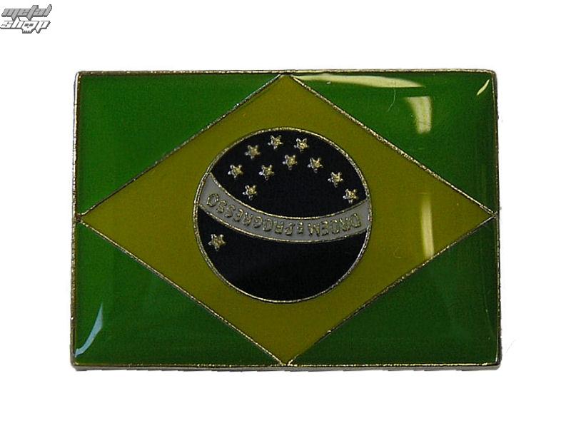 pripináčik Vlajka Brazil - RP - 104 - MAC