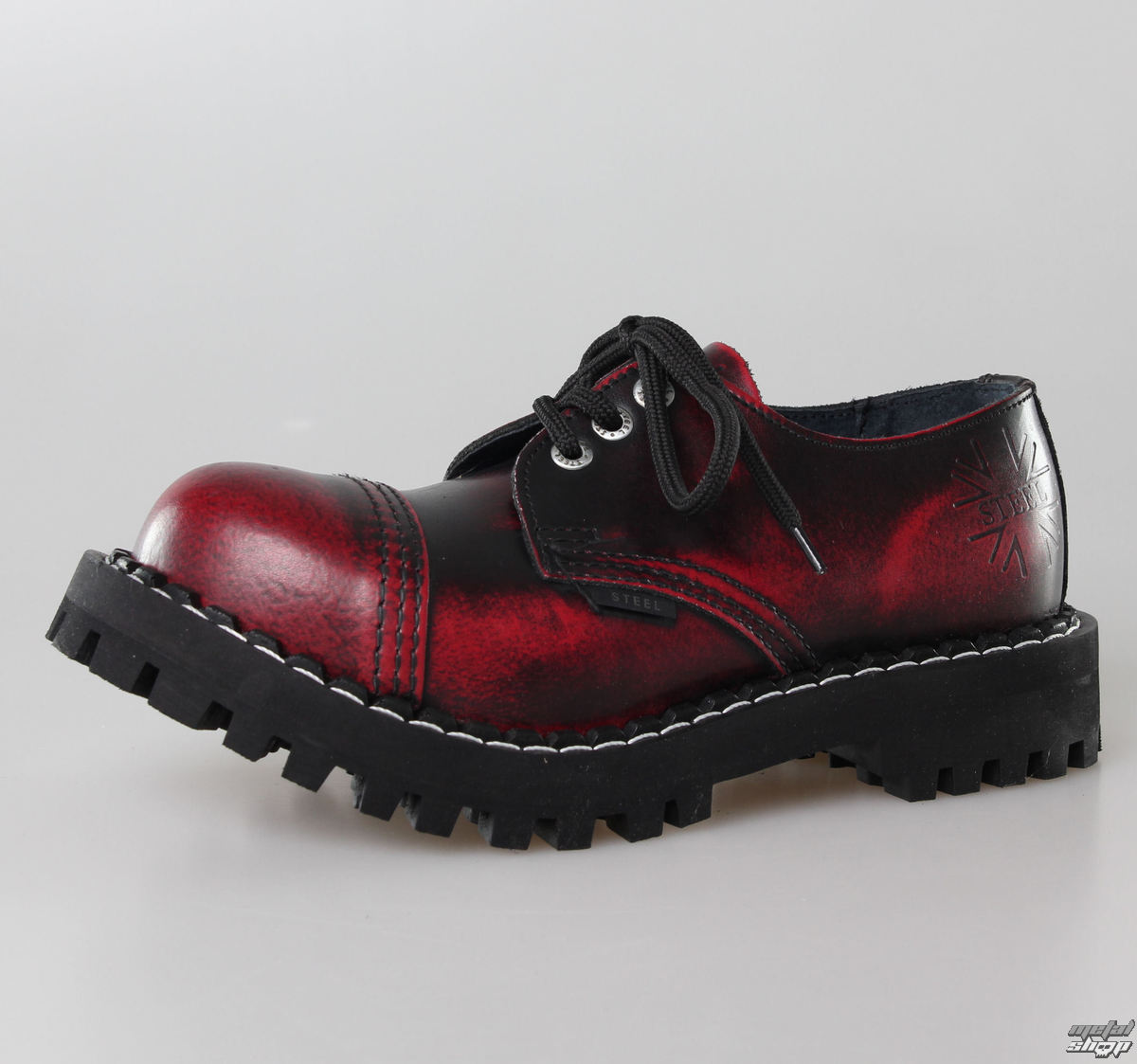 topánky STEEL - 10 dierkové čierne ( 105 106 Black) 10tich-dierkové ... ca020e847f7