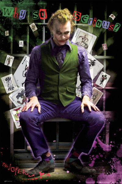 plagát - Batman (Dark Knight) - Joker Jail - FP2100 - GB posters