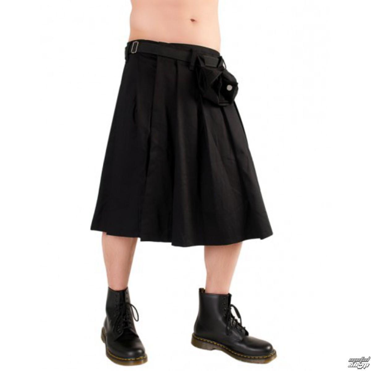 kilt Black Pistol - Short Kilt Denim Black - B-2-10-001-00