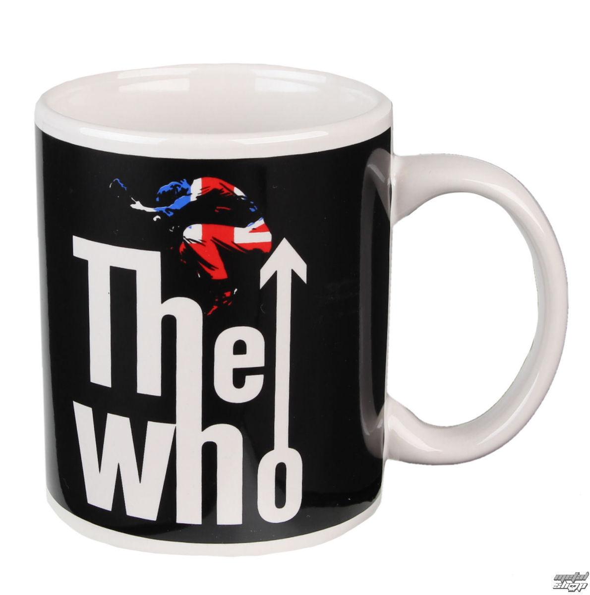 hrnček The Who - Union Jack - RAZAMATAZ