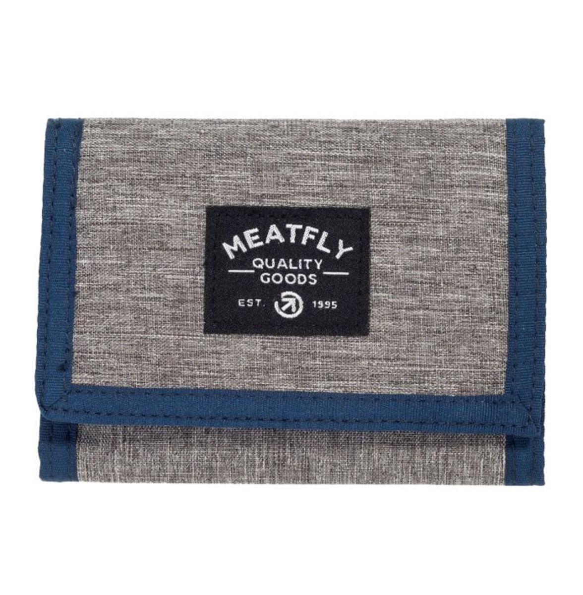 d5723fc5f peňaženka MEATFLY - LANCE - E - 1/26/55 - Heather Grey Blue