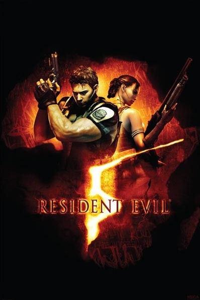 plagát Resident Evil 5 (BOX ART) - PP31863 - PYRAMID POSTERS